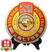 必买年货、京东PLUS会员:TIGER BALM 虎标 经典普洱茶盒装 357g *2件