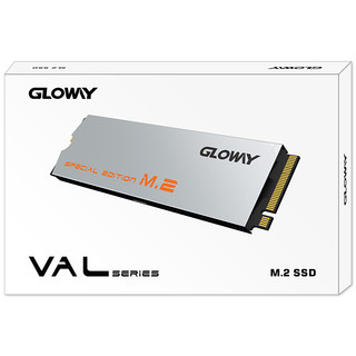 GLOWAY 光威 骁将 极速版 NVMe M.2 固态硬盘 1TB(PCI-E3.0)