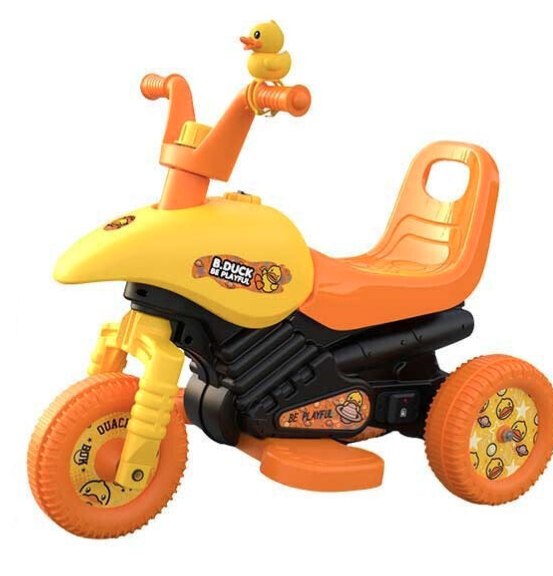 luddy 樂的 8020S 兒童電動車 小黃鴨