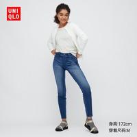 UNIQLO 优衣库 438294 女士高弹力牛仔紧身长裤