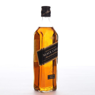 JOHNNIE WALKER 尊尼获加 黑牌 12年 调配型苏格兰威士忌 40%vol 500ml