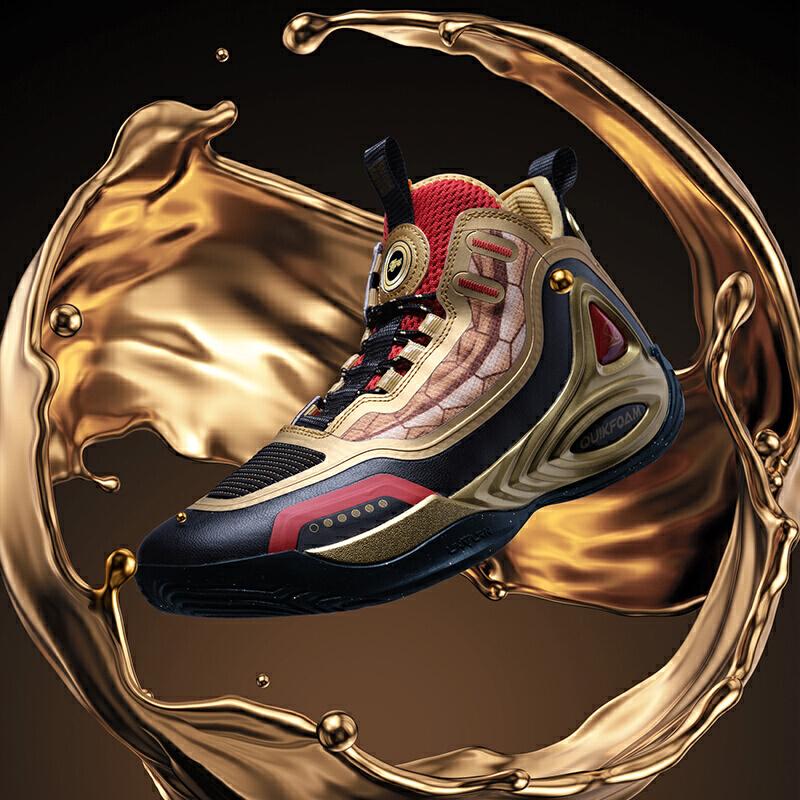 黄金圣斗士联名|童虎禅戈361度圣衣鞋男鞋运动鞋篮球鞋2020