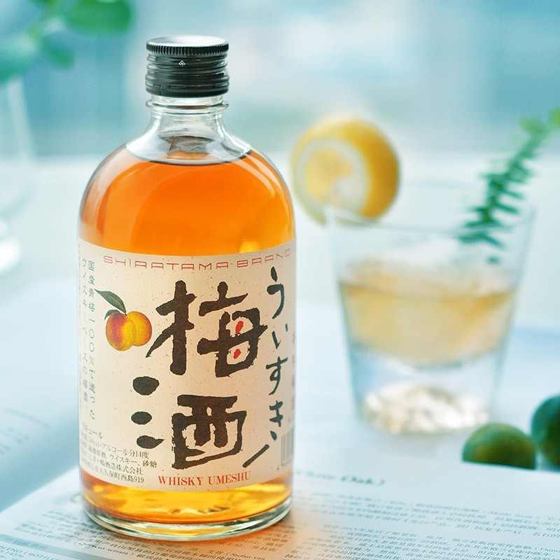 AKASHI 明石 威士忌梅酒 500ml