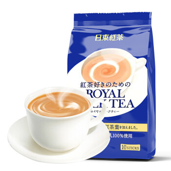 ROYAL MILK TEA 日东红茶 日东红茶 皇家奶茶粉140g *3件