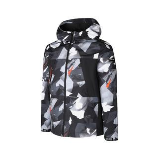 361° 春夏季简约休闲男式风衣男装运动外套