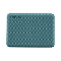 TOSHIBA 东芝 V10系列 USB3.0 2.5英寸移动硬盘 4TB 琉璃绿