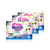 88VIP:Merries 妙而舒 婴儿学步裤 XXL 26片*3包