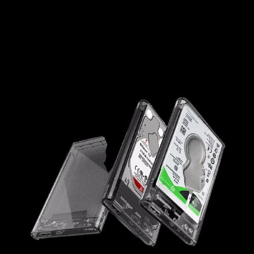 ORICO 奥睿科 2.5英寸 SATA透明移动硬盘盒 USB3.0 2139U3