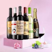 CHANGYU 张裕 优选红白甜葡萄酒 6支