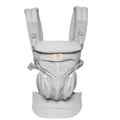 ergobaby Omni全階段系列 背嬰帶 透氣款 灰色