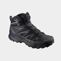 SALOMON 薩洛蒙 X ULTRA 3 WIDE MID GTX 男子徒步鞋 401293-UK7 黑色 40