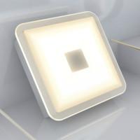 HUIZUO 慧作 智能方形筒燈 12W 暖白光