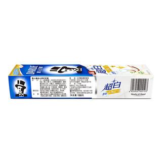 DARLIE 黑人 超白系列密泡小苏打牙膏 190g
