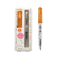 PILOT 百乐 钢笔  FKA-150R-TOF 限量版 透明橙 M尖