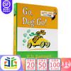 英文原版 Go, Dog Go! 纸板书 Dr. Seuss Random House 低幼适龄版