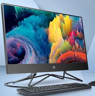 HP 惠普 战66 23.8英寸商用一体式台式电脑(R5-4500U、8GB、256GB、三年上门)