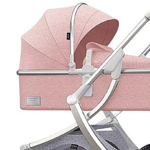 KIDORA 可多乐 C2 婴儿推车 银管粉色