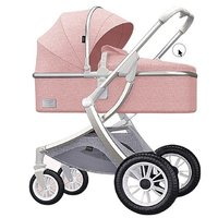 KIDORA 可多樂 C2 嬰兒推車 銀管粉色