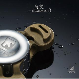 FEGVE随变新款指尖陀螺钛铜不锈钢手捻陀螺减压解压成人玩具EDC