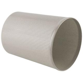 Comix 齐心 L203 圆形垃圾桶 21.5cm 直径 灰色