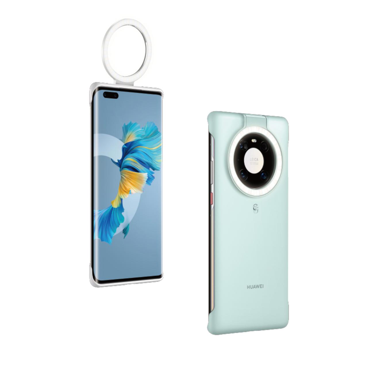 HUAWEI 华为 Mate 40 Pro 塑料手机壳 知更蓝