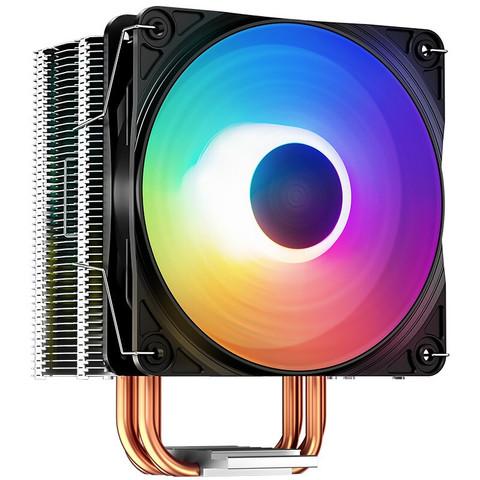 九州风神(DEEPCOOL) 玄冰400 CPU散热器(多平台/支持AM4/4热管/智能温控/幻彩/12CM风扇/附带硅脂)
