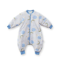 L-LIANG 良良 婴幼儿睡袋 风星·灰NEW·厚夹棉