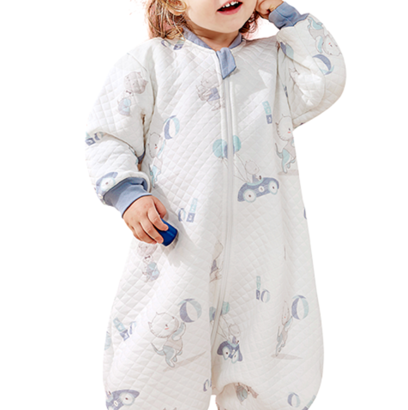 OUYUN 歐孕 OY152-19 嬰兒睡袋 墨蘭 S碼