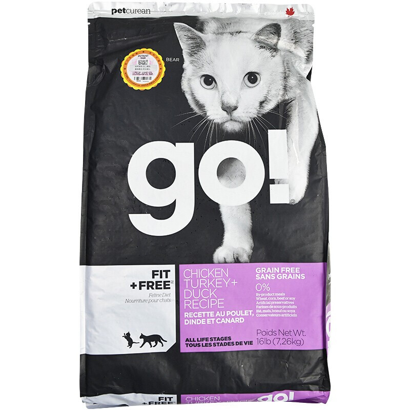 petcurean go! Petcurean Go 健康无限系列 九种肉全阶段猫粮 7.26kg