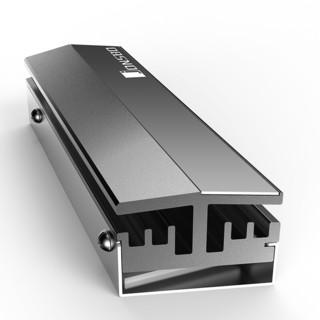 JONSBO 乔思伯 M.2 灰色 固态硬盘散热器