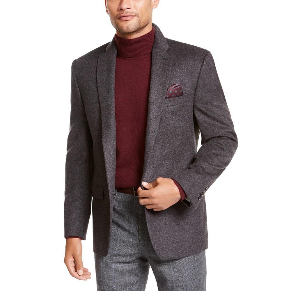 Ralph Lauren 拉尔夫·劳伦 男士羊毛混纺西装外套
