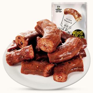 周黑鸭 卤鸭脖 休闲零食麻辣小吃肉干肉脯 经典大包装215g *4件
