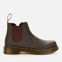 Dr. Martens 马汀博士 儿童2976 Wildhorse皮革系带靴