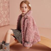 唯品尖货:ASK junior 女童毛绒外套