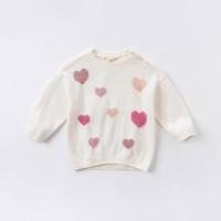 dave&bella 戴维贝拉 女童针织衫
