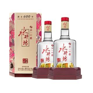 swellfun 水井坊 臻酿八号浓香高度白酒52度500ml*2瓶