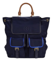 Tory Burch 汤丽柏琦 Perry Nylon Flap Backpack 双肩包