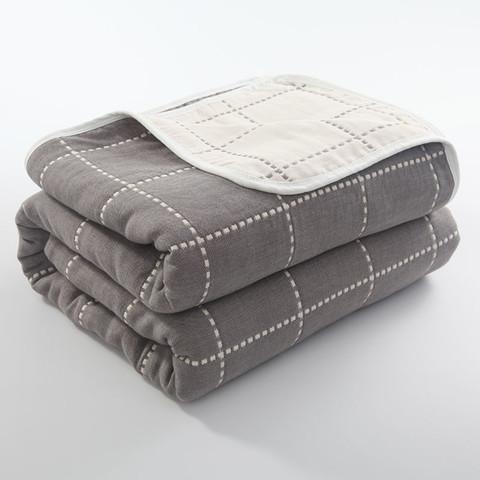 晒晒 六层纱布毛巾被 90*100cm