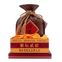 酒鬼酒 紫坛柔和52度 馥郁香型 国产粮食白酒 500ml *2件