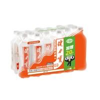 88VIP:健力宝 纤维+橙蜜味无糖 500m*(15+3)瓶 *5件