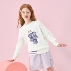 巴拉2021年春新款针织衫女大童甜美时尚 *2件