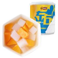 超级白菜日:林家铺子 双色水果罐头 200g*4罐 *2件
