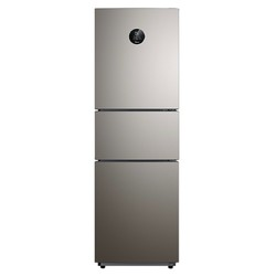 Midea 美的 BCD-247WTPZM(E) 风冷三门冰箱 247L 银色