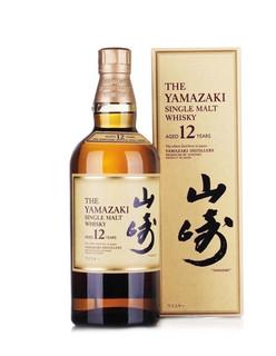 SUNTORY 三得利 山崎12年 单一麦芽威士忌 700ml