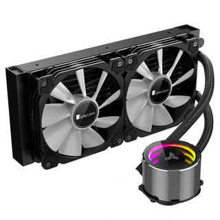 JONSBO 乔思伯 SHADOW 光影 幻彩版 一体式CPU水冷散热器
