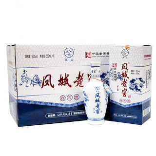 凤城老窖   浓香型白酒 500ml/瓶 50度*6瓶 整箱装