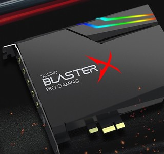 CREATIVE 创新 AE5 Sound BlusterX AE-5 Plus 声卡 5.1声道 黑色