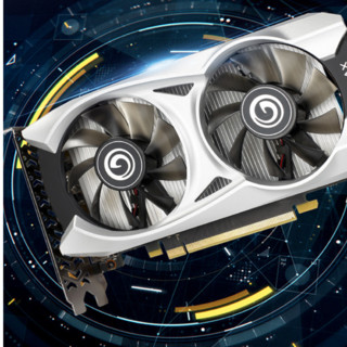 GALAXY 影驰 GeForce GTX1650 Ultra 大将 OC 4G 显卡 4GB 银白色