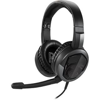 MSI 微星 GH30 V2 耳罩式头戴式游戏有线耳机 黑色