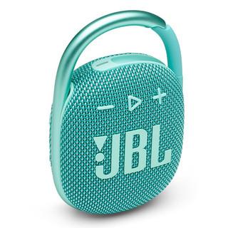 JBL 杰宝 CLIP4 无线音乐盒四代 蓝牙音箱 薄荷青